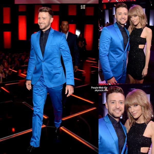 Justin Timberlake était présent aux iHeart Radio Music Awards 2015 pour recevoir un award d'honneur. (au Shrine Auditorium dimanche (29 Mars) à Los Angeles.)