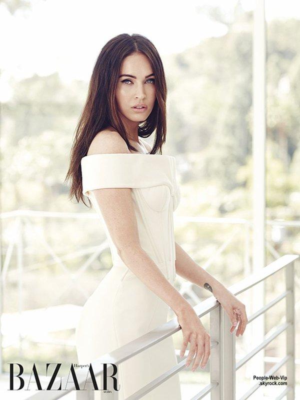 """Megan Fox en couverture du magazine """" Harper's Bazaar Arabia""""   Qu'en pensez vous?"""