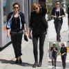 Kristen Stewart a été aperçue avec son amie Alicia Cargile dans les rues de Los Angeles. (samedi après-midi (28 Mars) à Los Angeles.)