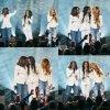 Les Destiny's Child à nouveau réuni sur scène.lors des Stellar Awards. Michelle Williams était censée interpréter seule sa chanson Say Yes, quand ses deux acolytes sont venues la rejoindre sur scène. (samedi soir (28 Mars) à Las Vegas.)