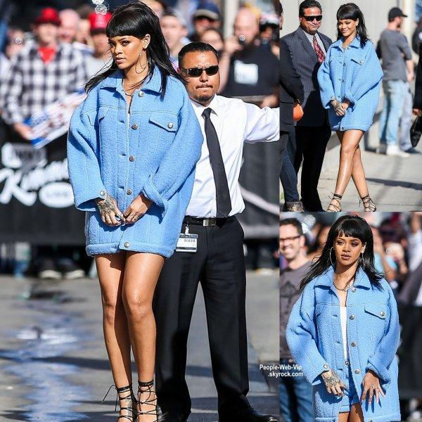 "VIDEO :  ""Réveille-toi Jimmy !"", a-t-elle hurlé Rihanna piège Jimmy Kimmel à 1h du matin !"