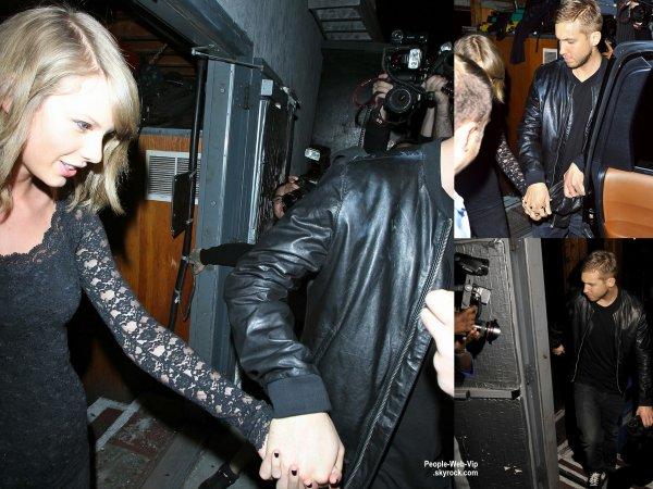 Calvin Harris a été aperçu avec sa nouvelle petite amie, la chanteuse Taylor Swift !! Ils ont été vu quittant un concert à Los Angeles. (jeudi soir (2 Avril) à Los Angeles.)