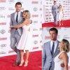 Chris Hemsworth prend la pose avec sa femme Elsa Pataky  à la première de son dernier film Avengers: Age of Ultron  ( au Théâtre Dolby lundi (13 Avril) à Hollywood.)