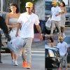 Kylie Jenner a été aperçue avec son petit ami Tyga pendant une virée shopping.  (mardi après-midi (Avril 14) à Hollywood.)