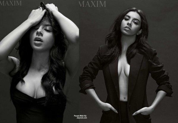 """Charli XCX prend la pose pour le magazine """" MAXIM """" a paraître au mois de mai. Qu'en pensez vous?"""