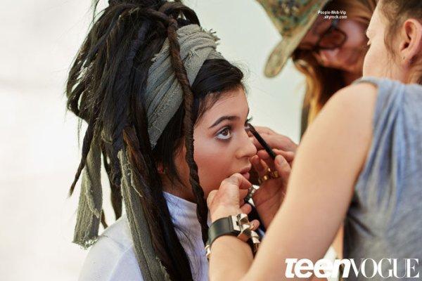 """Kylie Jenner pose pour le magazine """"Teen Vogue"""" a paraître pour le mois de mai. Qu'en pensez vous?"""