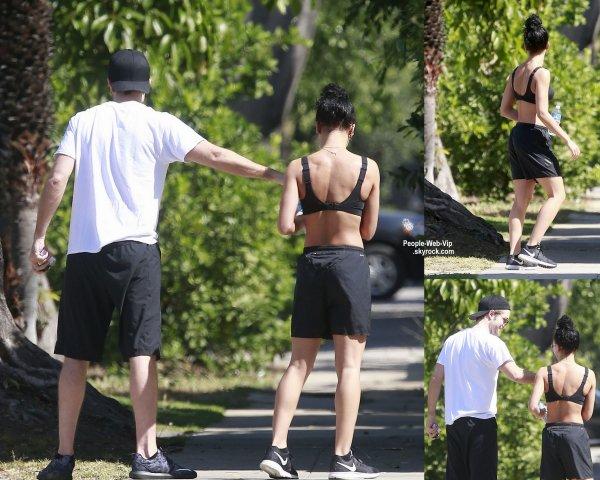 Robert Pattinson a été aperçu avec sa fiancée FKA fiancé après une séance de Gym. (week-end dernier à Los Angeles.)