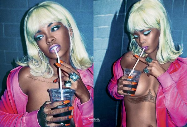 PHOTOSHOOT :  Rihanna pour le magazine V en kiosque le 7 mai.