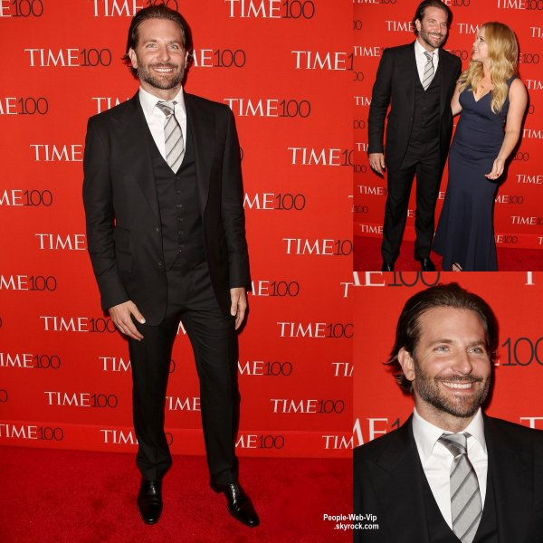 "Emma Watson, Naomi Campbell et Bradley Cooper sur le tapis rouge lors de la soirée "" Time 100 Gala "" ( au Lincoln Center mardi (21 Avril) à New York City.)"