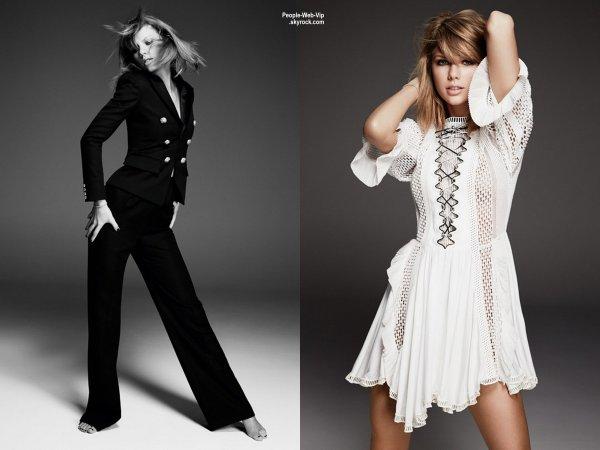 """Taylor Swift prend la pose sur la couverture de Juin 2015 du magazine""""  Glamour Uk """" Qu'en pensez vous?"""