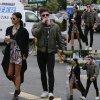 Zac Efron a été aperçue dans les rues de la Californie avec sa petite amie Sami Miro. ( jeudi (23 Avril) à Los Feliz, en Californie.)