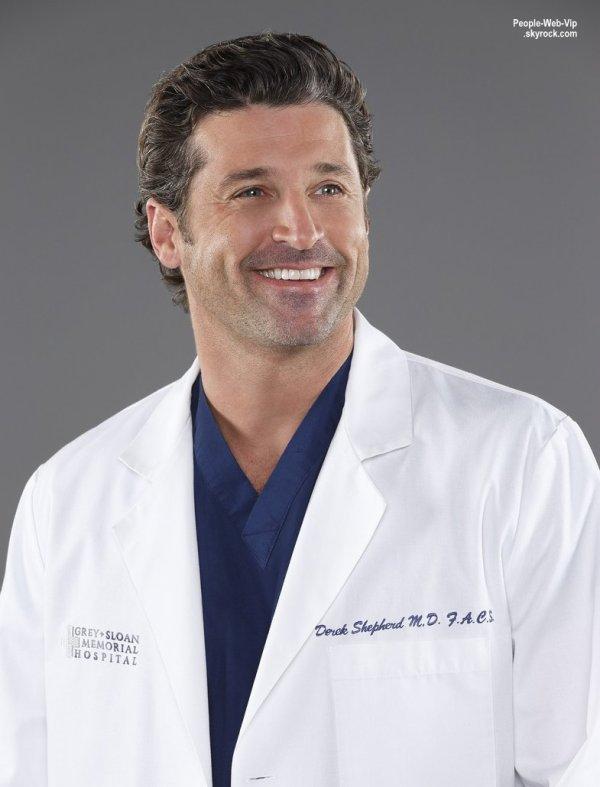 Greys Anatomy :  Patrick Dempsey quitte la série !