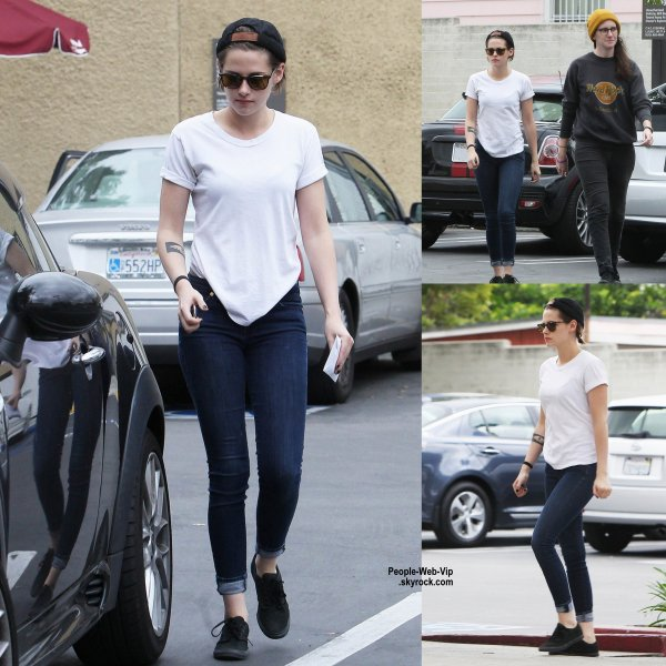 Kristen Stewart a été aperçue dans les rues d'Hollywood. (mercredi (6 mai) à Hollywood.)
