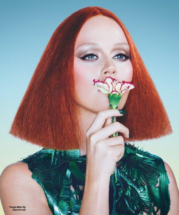 Katy Perry : Son photoshoot pour ses trois couvertures différentes pour le numéro d'été du magazine Wonderland. Qu'en pensez vous?