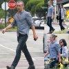Colin Farrell a été rejoint par sa s½ur Claudine prés d'un restaurant de Tacos ( mardi (5 mai) à West Hollywood, en Californie.)