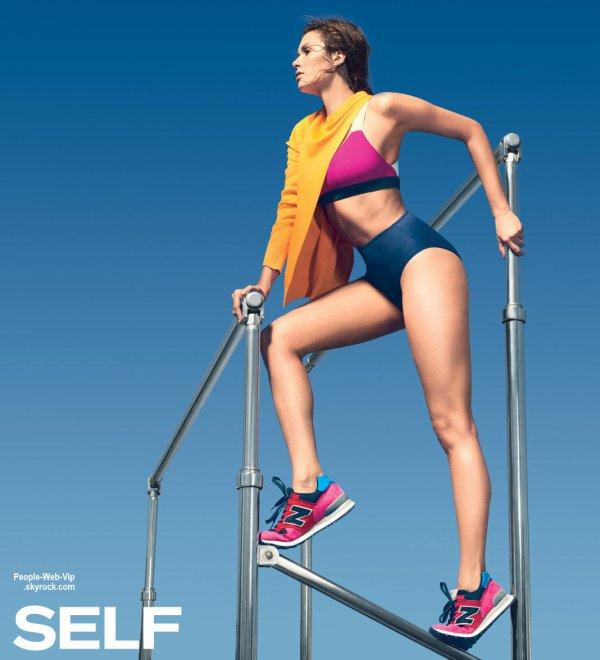 """La belle Nina Dobrev prend la pose pour le magazine """" Self """" Qu'en pensez vous?"""