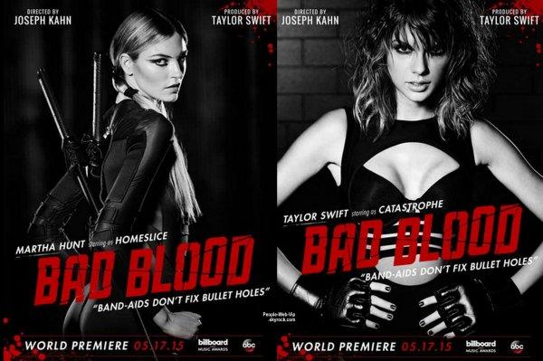 """""""Bad Blood"""" de Taylor Swift : Jessica Alba et Ellen Pompeo dans le casting !"""