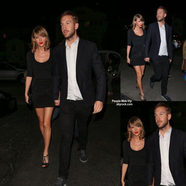 Taylor Swift a été aperçue avec son petit ami Calvin Harris dans les rues de la Californie. (mardi (12 mai) à Venise, en Californie.)