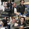 Colin Farrell a été aperçu à l'aéroport de Nice pour le Festival de Cannes 2015 (jeudi (14 mai) à Nice, France.)