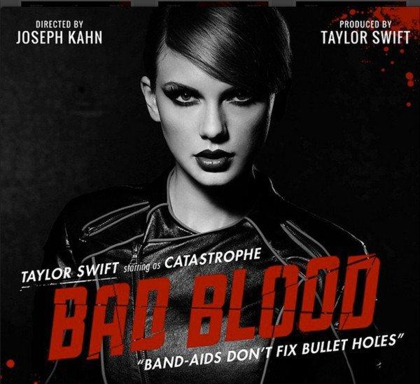 """BAD BLOOD VIDEO : Taylor Swift est repartie dimanche 17 mai des Billboard Music Awards avec huit prix, dont celui du meilleur artiste, et après plus de dix jours de teasing, la star américaine a dévoilé le clip de """"Bad Blood"""" lors de la cérémonie à Las Vegas."""