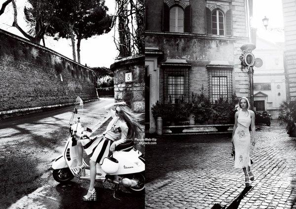 """Amanda Seyfried pose sur la couverture de Juin 2015 du magazine """"Vogue."""" Qu'en pensez vous?"""