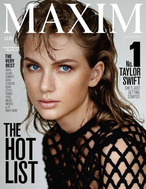 PHOTOS : Taylor Swift est la femme la plus sexy du monde selon le magazine «Maxim»