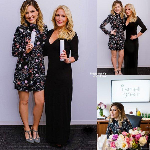 """Sophia Bush est la nouvelle ambassadrice de la marque""""I Smell Great"""". """"Travailler avec Randi est un rêve devenu réalité"""", a déclaré Sophia Bush au magazine WWD. (mercredi (20 mai) à Los Angeles)"""