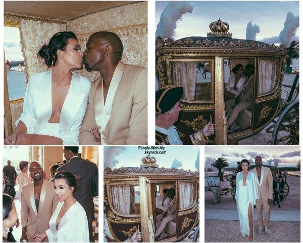Kim Kardashian et Kanye West ont célébré leur anniversaire de mariage. 1 an déjà ! L'occasion pour notre Kim de commémorer leur mariage avec pleins de photos d'elle et son homme. ( dimanche (24 mai)