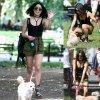 Vanessa Hudgens a été aperçue dans un parc de New York avec son chien Darla  ( mardi (26 mai)