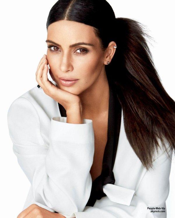 "Kim Kardashian en couverture du magazine "" Glamour""  Qu'en pensez vous?"