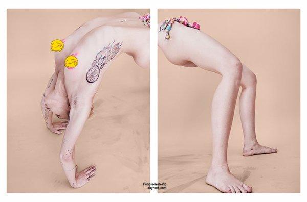 """Miley Cyrus : Découvrez son photoshoot pour le magazine"""" Paper """" en kiosque le 22 juin. Qu'en pensez vous?"""
