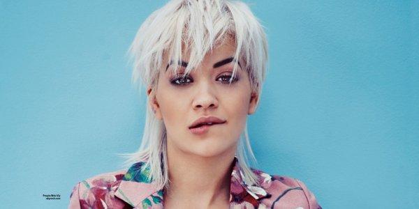 """La chanteuse Rita Ora pose pour le magazine """" Marie Claire"""" Qu'en pensez vous?"""