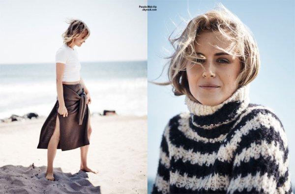 """Taylor Schilling prend la pose pour le magazine """" Net-a-Porter"""" Qu'en pensez vous ?"""