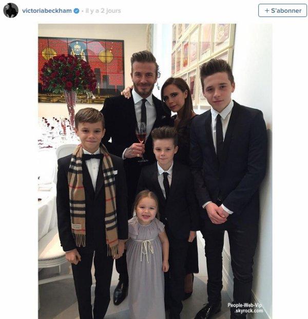 PHOTO : 16 ans de mariage pour Victoria et David Beckham !