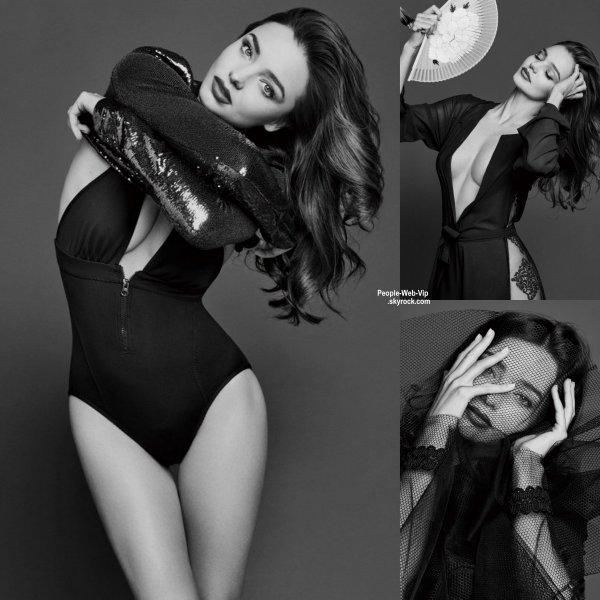 """Miranda Kerr : Découvrez son photo-shoot pour le magazine """" TRENDS HEALTH """" Qu'en pensez vous?"""