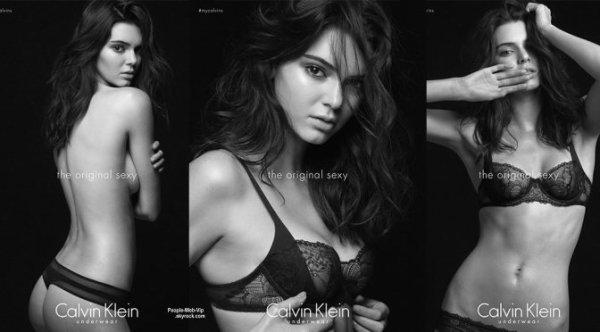 Kendall est devenue l'égérie de nombreuses marques, notamment de Calvin Klein pour sa nouvelle campagne The original sexy. La jeune femme a d'ailleurs posté quelques clichés du shooting sur son compte Instagram et le résultat et assez agréable à regarder. ON AIME ?