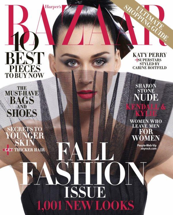 """Katy Perry prend la pose pour le magazine """" Harper's Bazaar """" Qu'en pensez vous?"""