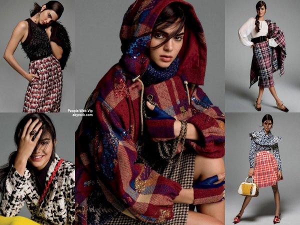 """Kendall Jenner dévoile son photo-shoot pour le magazine """" Vogue"""" a paraître en septembre. Qu'en pensez vous?"""