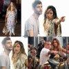 """Jennifer Lopez est en plein tournage pour son prochain clip  """"El Sol Mismo"""" avec le chanteur espagnol Alvaro Soler, et son chéri Casper Smart  ( lundi (24 Août) à Brooklyn, New York.)"""