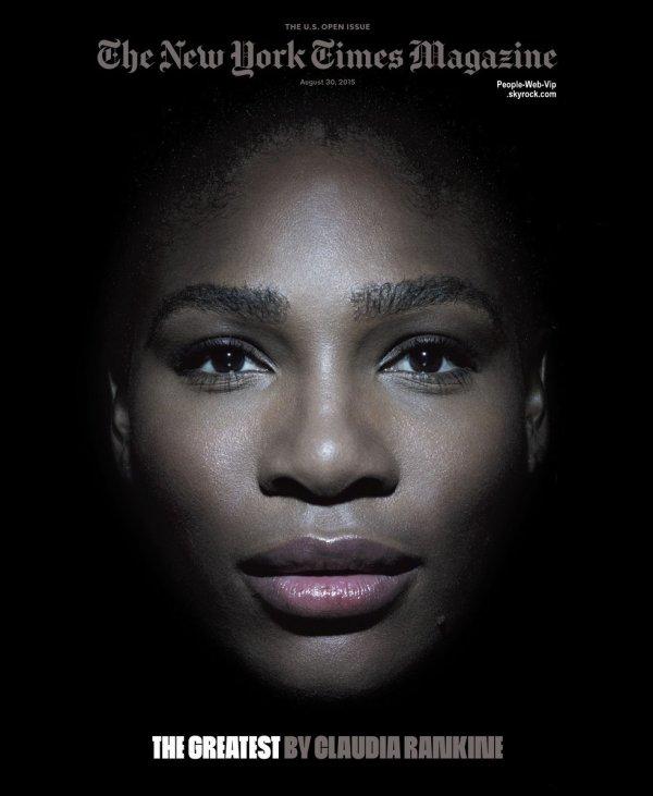 """Serena Williams est en couverture du magazine """"  The New York Times """" Qu'en pensez vous?"""