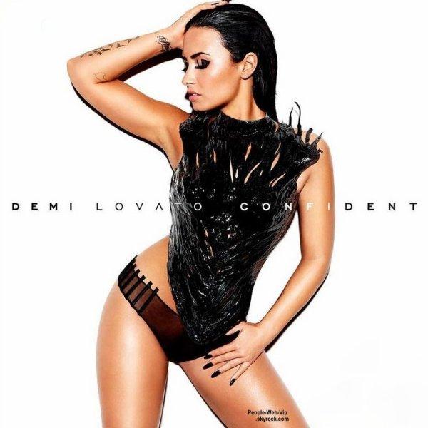 """Demi Lovato dévoile la pochette sexy de son prochain album """" Confident """"  On aime ?"""