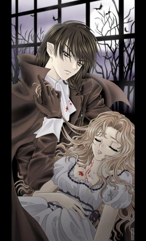 un amour de vampire est sa vampirette