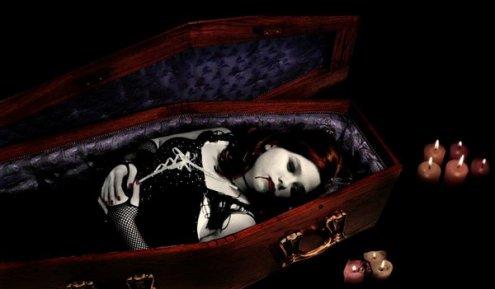j atten que mon vampire vienne me reveille est qui ennene avec lui