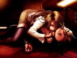 mon vampire vien la quejeteprenne ton sang jusque a la dermiere goute huuuummmm