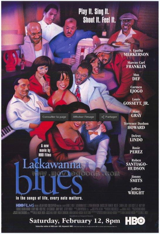 JAZZ . ET . CINEMA . ACTE . 7 . LACKAWANNA  . BLUES . FILM . DE . GEORGES .  C .; WOLFE . DE . 2005