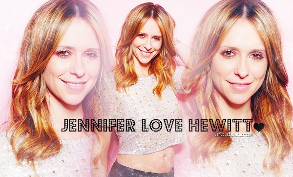 .Jennifer Love Hewitt parce que tout simplement c'est  Elle et elle est un Model  à mes yeux .