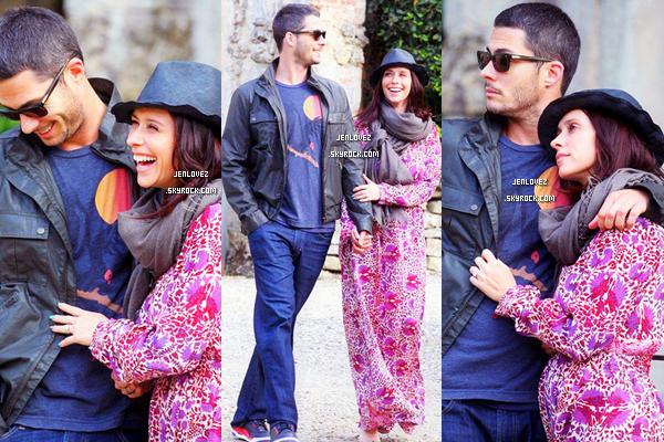 Le 31 Mai 2013, Jennifer était en compagnie de son petit ami à Florence en Italie.
