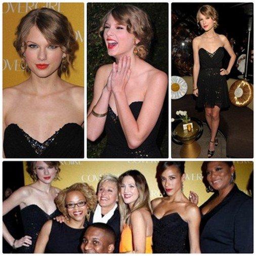 5 / 01 / 11  Taylor était au 50eme anniversaire de CoverGirl après les PCA