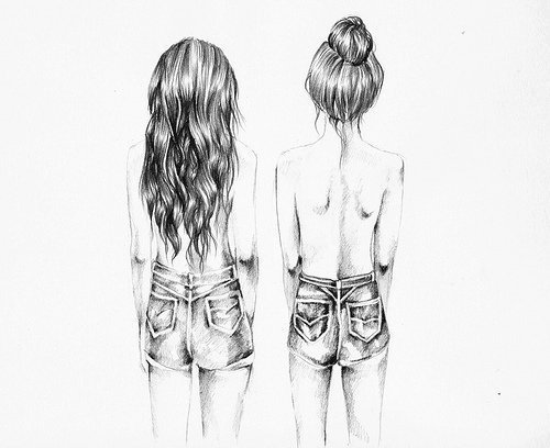 Toi, tu es la soeur que Dieu a oublié de me donné... ♥