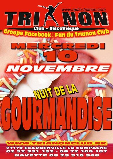 Mercredi 10 Novembre Soirée de la Gourmandise (Veille 11 Nov)